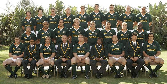 South Africa national rugby union team